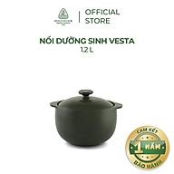 Nồi sứ dưỡng sinh Minh Long - Vesta 1.2 L + nắp thumbnail