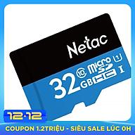 Thẻ Nhớ Micro SD Netac 32GB - Hàng Chính Hãng thumbnail