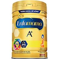 Sữa Bột Enfamama 360 Brain Plus Cho Mẹ Mang Thai Và Cho Con Bú - Vị Chocolate - 830g thumbnail