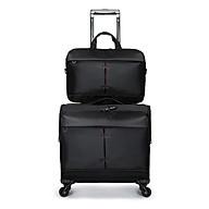 Combo bộ vali vải chống nước size 16 và cặp đựng laptop 14 inch màu đen TT554 thumbnail