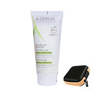 A-Derma Hydra Protective Shower Gel Gel tắm gội dịu nhẹ (200ml) thumbnail
