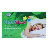 Dưỡng tâm an thần Sleep Star - Thảo dược thiên nhiên cho giấc ngủ tự nhiên, ngủ sâu giấc. Giảm hồi hộp, cải thiện tình trạng mất ngủ kinh niên. Hộp 50 viên. SP được Sở Y Tế chứng nhận. thumbnail