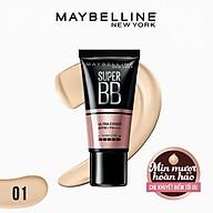 Kem Nền Maybelline Super BB Ultra Cream Cover SPF50 PA++++ 30ml Trang Điểm Hoàn Hảo PM711 thumbnail