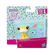 Đồ chơi mô hình Cặp đôi Frog LITTLEST PET SHOP E0462 B9358 thumbnail