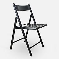 Ghế gỗ gấp gọn - Ghế gỗ (kt 82x45x45cm) thumbnail