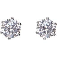 Bông Tai Kim Cương Nhân Tạo Gix Jewelry GE000003 - Trắng thumbnail