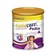 Sữa bột Wincofood Goldcare Pedia 900g dành cho trẻ biếng ăn, chậm lớn sản phẩm phù hợp với trẻ từ 1 tuổi trở lên, bổ sung FOS giúp trẻ ăn ngon miệng, DHA , Taurine, Omega giúp phát triển trí não thumbnail