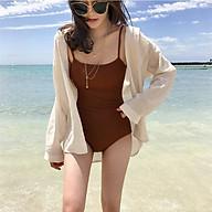 Bộ bikini đi biển cao cấp 1 mảnh bassic thumbnail