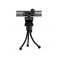 4K Webcam AF Autofocus Webcam Built-in Microphone Plug and Play with Privacy Cover Multi Stage Built-in Speakers Black thumbnail
