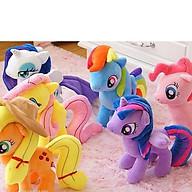 Ngựa Pony bông cao 30cm thumbnail