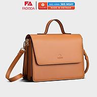 Túi đeo chéo nữ thời trang FN96, 8 ngăn, vừa A5, ví, điện thoại, phù hợp đi chơi, đi làm, đi tiệc, da tổng hợp cao cấp. thumbnail
