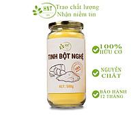 Tinh bột nghệ nhiều curcumin HNT 500g - Đã được kiểm nghiệm an toàn chất lượng thực phẩm- dùng khi, dưỡng da, đau dạ dày thumbnail