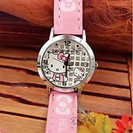 Đồng hồ trẻ em hình hello kitty - kitty21 dành cho bé gái (chụp ảnh thật) thumbnail