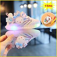 Giày Thể Thao Cho BÉ Gái Có Đèn LED Độc Đáo Tặng Bộ Bút Màu Kèm Trứng E175 thumbnail