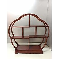 Kệ gỗ trang trí ( gỗ hương) - 42x10x42 cm thumbnail