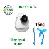 Camera IP Thông Minh Qihoo 360 Xoay D706 FHD 1080P Hồng Ngoại Tiếng Anh thumbnail
