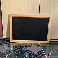 Bảng đen khung gỗ 60cm x 40cm thumbnail