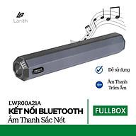 Loa bluetooth A21 thương hiệu Lanith Dung lượng pin 1200mAh, thời gian sử dụng lên tới 5h Hỗ trợ đài FM, Bluetooth, USB Hàng nhập khẩu - LWR00A21 thumbnail
