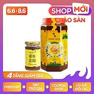 Mật ong thiên nhiên 5 sạch Honeyboy 1kg và Mật ong sữa chúa Honeyboy 100ml thumbnail