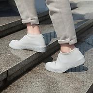 Bọc Giày Đi Mưa Silicone Siêu Bền - Bảo Vệ Giày Trắng Khỏi Bùn Đất thumbnail