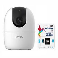 Camera IP Wifi IPC-A22EP-IMOU Chuẩn 1080P Tặng Thẻ nhớ Adata 32gb - Chính Hãng thumbnail