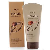 Sữa rửa mặt Anjo Snail Foam Cleansing dưỡng ẩm da Hàn Quốc 150ml thumbnail