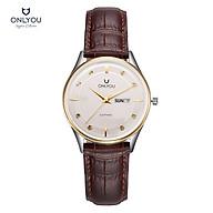 Đồng hồ Onlyou Nữ U1015LC Dây Da 30mm thumbnail