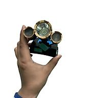 Đèn Đội Đầu 3 Bóng HeadLamp T6 Kiểu Mới - Vàng DÙNG SẠC USB thumbnail