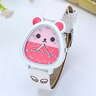 Đồng hồ trẻ em hoạt hình đáng yêu cho bé gái HTCHUOT thumbnail