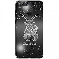 Ốp lưng dành cho Honor 7X mẫu Cung hoàng đạo Capricorn (đen) thumbnail