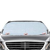 Tấm bạt che chắn nắng ngoài kính lái ô tô 4 lớp kích thước 193 126 cm thumbnail