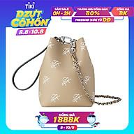 Túi đeo chéo Find Kapoor Mini Pingo Pattern FB19PTCH2BG - màu beige thumbnail