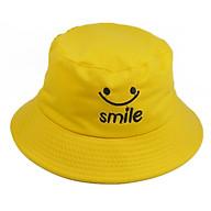 Nón bucket mặt cười Smile nam nữ thời trang, vành rộng chống nắng tốt, chất liệu vải mềm mại thoải mái thumbnail