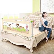Thanh chặn giường Cao cấp, mẫu mới nhất, số lượng 01 thanh, Bảo vệ Bé An Toàn (Tặng 01 tranh ghép hình bằng gỗ kích thích sự phát triển của Bé) thumbnail