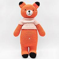 Thú Bông Cáo Foxxie Mũm Mĩm Bobi Craft WT-180ORG-F-L thumbnail