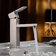 Vòi lavabo inox 304 nóng lạnh HANBACHLVB5 thumbnail