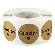 500 Chiếc Tây Ban Nha Gracias Cảm Ơn Bạn Nhãn Dán Cói Nhãn Trọn Gói thumbnail