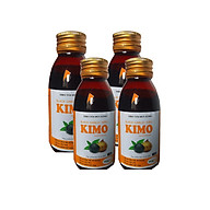 Combo 4 chai Siro tỏi đen KIMO (125ml chai) thumbnail