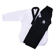 Võ Phục Taekwondo Quyền Cổ Đen Black Eagle Tân Việt DPVTTAEQCDBE180 (Size 180) thumbnail