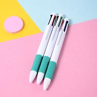 Combo gồm 30 bút bi 4 màu nhựa trắng cao cấp thumbnail