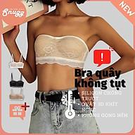 Áo ngực ren bandeau 3D cup - tặng kèm dây trong-Snugg thumbnail
