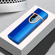 Bật lửa điện cảm ứng vân tay siêu mỏng gọn - Màu ngẫu nhiên thumbnail