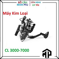 Máy Câu Cá Kim Loại CL 3000-4000-5000-6000-7000 , Tải cá lên tới 15kg thumbnail