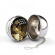 Dụng cụ lọc trà và thảo dược hình quả cầu bằng inox cao cấp thumbnail