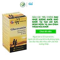 Viên uống TPCN GLUCOSAMIN giúp ngăn ngừa và hạn chế viêm khớp,bôi trơn các khớp xương,hỗ trợ làm giảm triệu chứng khô khớp,thoái hóa khớp-chai 60 viên thumbnail