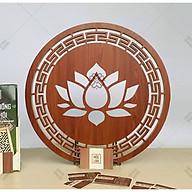Tấm ốp ban thờ Hoa Sen 41cm - MỘC LINH thumbnail