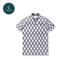 Áo golf nam Pearly Gates ngắn tay logo chữ thumbnail