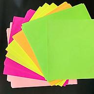 Giấy Gấp Origami, Giấy Thủ Công Gấp Hạc Gấp Hoa Gấp Hình Động Vật ( 17.5 cm 17.5cm 5 Màu 60 Tờ) thumbnail