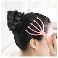 Dụng cụ massage đầu lăn bi giúp thư giãn xã stress, Cây lăn mát xa da đầu cầm tay siêu tiện dụng- GD473-Massage-DauBi (GIAO MÀU NGẪU NHIÊN) thumbnail