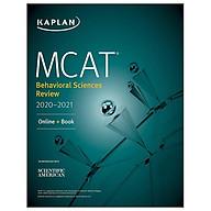 MCAT Behavioral Sciences Review 2020-2021 Online + Book (Kaplan Test Prep) thumbnail